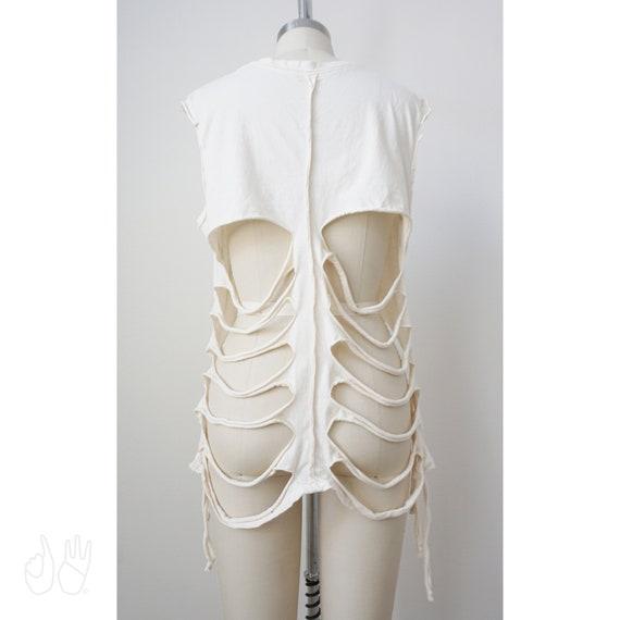 Elsa Skeleton Tee' | Bone Ivory