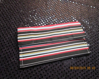 Cute striped pattern wallet