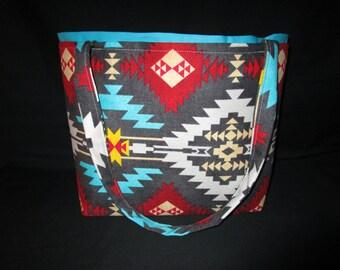 Aztec print Handbag