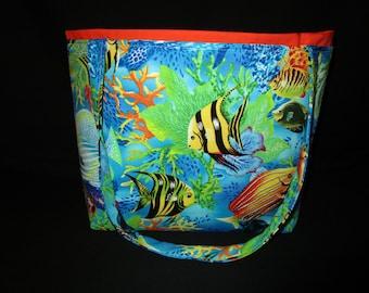 Tropical fish Handbag
