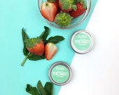 Mixed Berry Lip Butter-Lip Balm| 100% Natural- Acai berry fruit extract| Strawberry extract| Blueberry extract| Lip Tent| Natural Organic