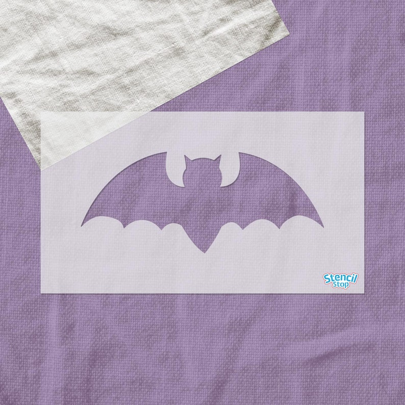 Bat Halloween Mylar Painting Pumpkin Wall Art Stencil five