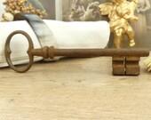 Large key - Rusted key - Old key - French key - Iron key - Skeleton key - Vintage - Country house - France