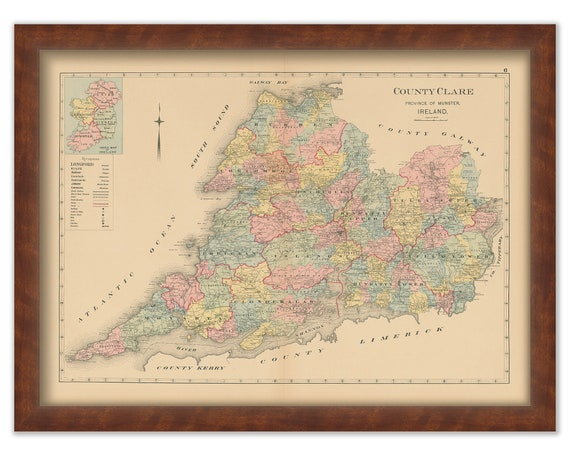County Clare Ireland 1901 0005 Etsy