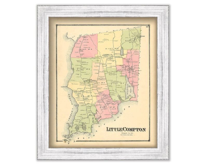 LITTLE COMPTON, Rhode Island 1870 Map on los angeles map, chualar map, gardena map, forrest park map, auberry map, long beach map, tyndall map, grimaldi map, 1000 palms map, cutler map, cedar ridge map, hope ranch map, california map, downieville map, crenshaw map, burbank studios map, angels camp map, la trade tech map, la county map, inglewood map,