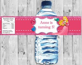 Sleeping Beauty, Aurora Bottle Label