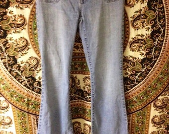 Vintage 90s Hydraulic Ladies Junior Jeans Size 7/8.