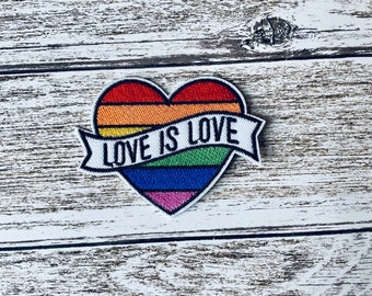 Cross fit Gift for a lifter Strength Gift Love is Love CrossFit Rainbow Belt Patch Velcro Lifter Velcro Patch Weightlifting