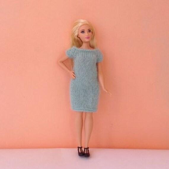 Stricken Mohair für kurvige Barbie kleiden und andere kleinen | Etsy