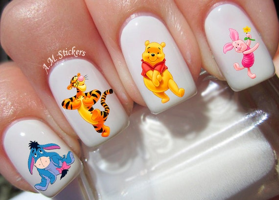 41 Winnie The Pooh Nail Decals Etsy