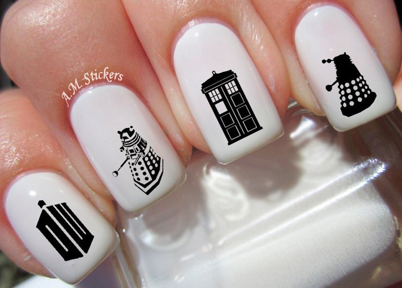 46 Doctor Who Nail Decals | Etsy