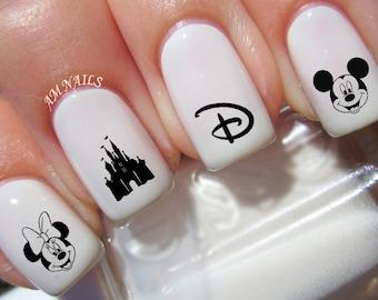 Disney Nail Decals - Set of 50