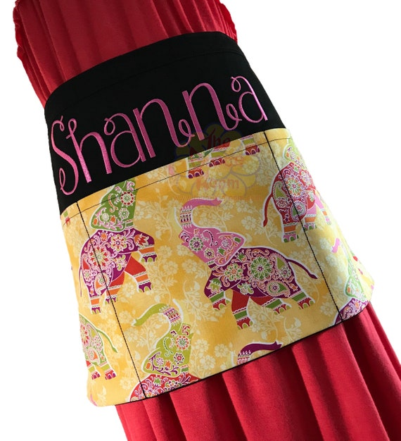 Heavy Duty Waiter Waitress Apron with Optional Personalization and Fabric Choice