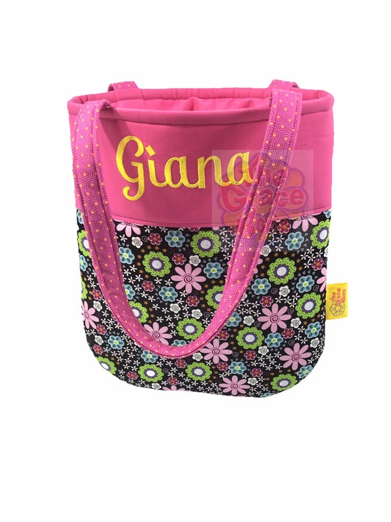 Pink Daisy Tablet Case with Optional Personalization and Custom Fabric
