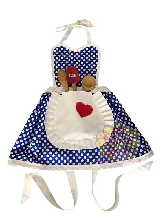 Childs Lucy Style Costume Apron