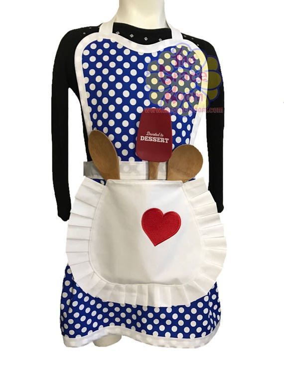 Lucy Style Retro Costume Apron-Adult Size