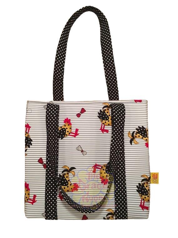 Personalized Custom Chicken Bag, Tote, Purse, Handbag, Tablet Case, or Bible Bag