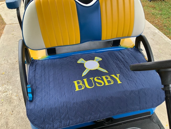 Pet Friendly Golf Cart Front Seat Protective Cover