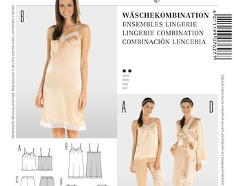 2ffa8377bf28bd Style-Schnittmuster, Wäschekombination, 7627