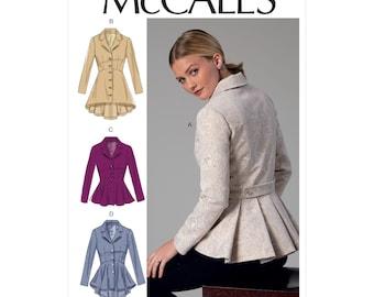 McCalls sewing pattern M7513 - jacket - coat - shoot