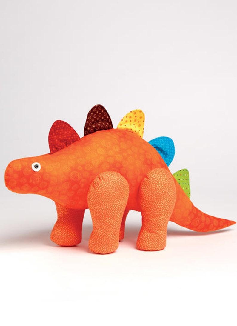 Dragon Soft Toy Pillow McCalls Sewing Pattern M7553 Dino