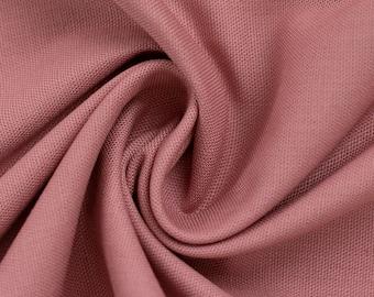 7.20EUR/ 1 m, cotton fabric, uni, old pink, heath
