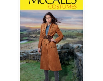 McCall's Sewing Pattern M7990 - Costume Coat - Steampunk - Larp - Cosplay