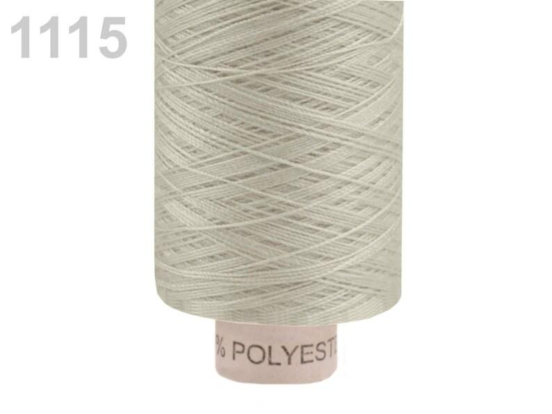 500 meters sewing thread Polyester 1115 beige