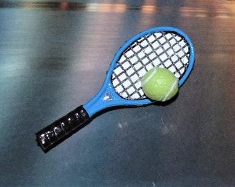 880b132593fad Racket pin | Etsy
