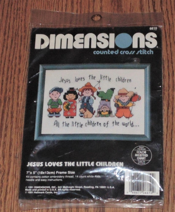 """Dimensions Cathy Heck All Of Me Counted Cross Stitch Kit-5/""""X5/"""" 14 Count"""