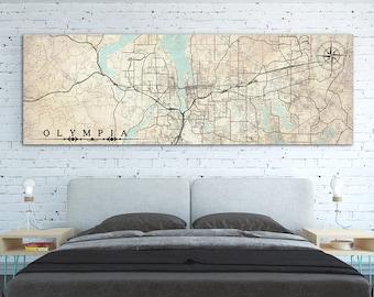 Olympia wa map | Etsy