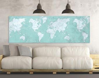 Oversized world map | Etsy
