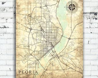 Peoria map poster | Etsy on new york city map, winslow in map, duquoin map, sun city az street map, rockford il map, sun lakes az street map, san francisco to los angeles map, chicago hts map, tartesso map, city of garden grove map, anshan map, pekin street map, norman map, san juan pr map, beckley map, cincinnati map, providence map, saint louis city map, sun city grand map, pascagoula map,