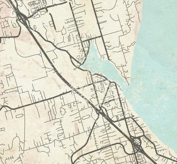 GIG HARBOR WA Canvas print Washington State Vintage City map Horizontal on city of wisconsin map, city of germany map, city of chicago map, city of alabama map, city of new orleans map, city of puerto rico map, city of oklahoma map, city of marquette map, city of georgia map, city of idaho map, city of cincinnati map, city of miami map, city of montana map, city of kentucky map, city of seattle map, city of delaware map, city of virginia map, city of california map, city of tennessee map, city of louisiana map,