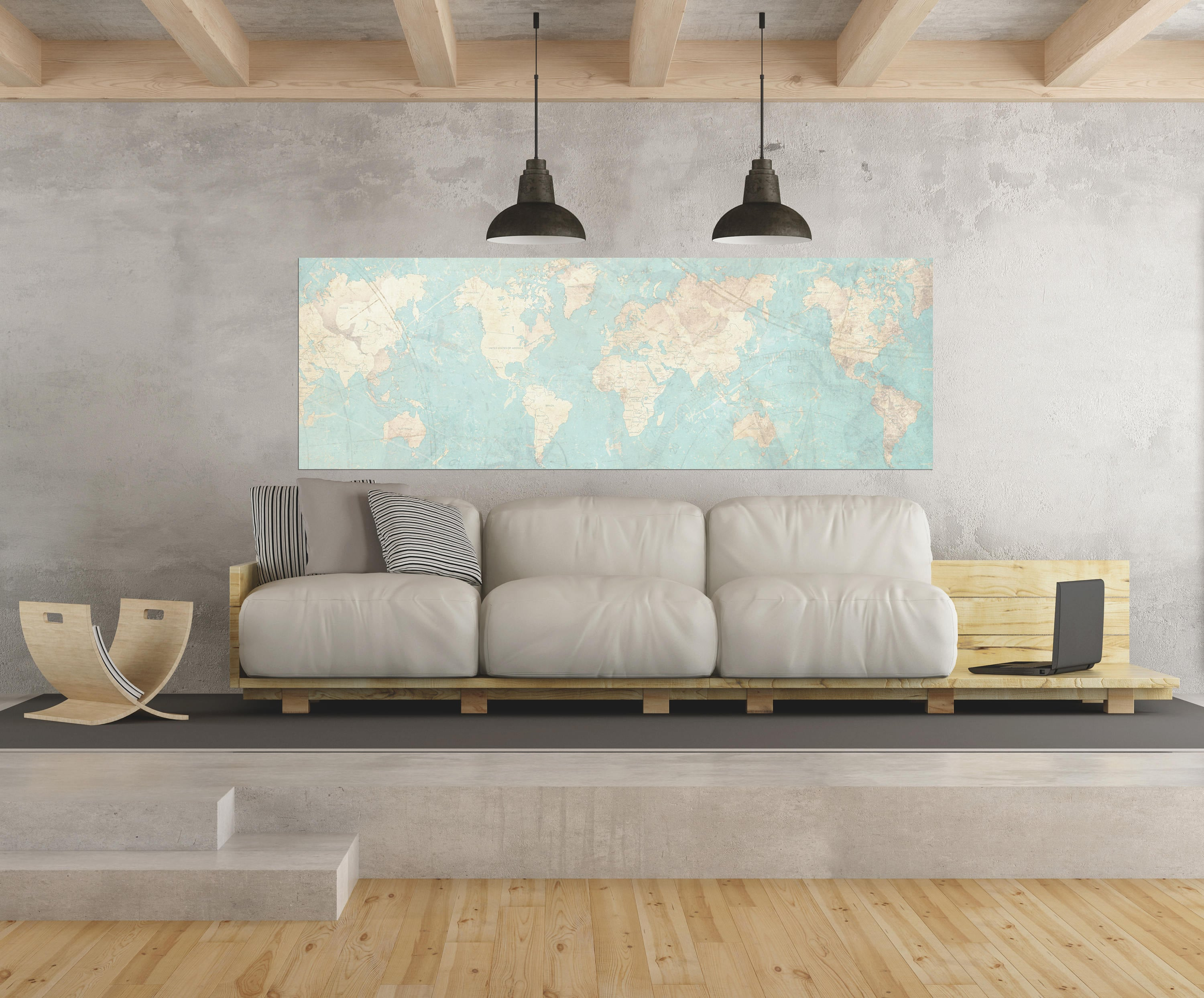 World map canvas print vintage map world map horizontal extra large world map canvas print vintage map world map horizontal extra large wall art vintage map antique oversized pastel map huge wall art poster gumiabroncs Gallery