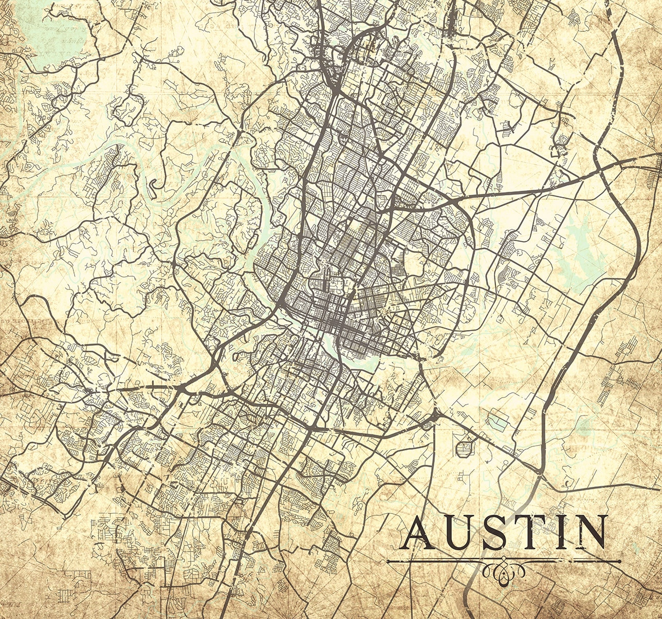 AUSTIN TX Canvas Print Texas TX Vintage map Austin tx City ... on old calgary maps, old orlando maps, old el paso county maps, old michigan maps, old oakland maps, old tallahassee maps, old florida maps, old minnesota maps, old bowling green maps, old tinley park maps, old pensacola maps, old green bay maps, old stockton maps, old raleigh maps, old tobin maps, old ohio maps, old texas maps, old honolulu maps, old annapolis maps, old chico maps,