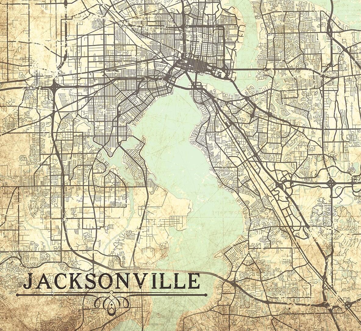 Jacksonville Fl Canvas Print Florida Fl Jacksonville