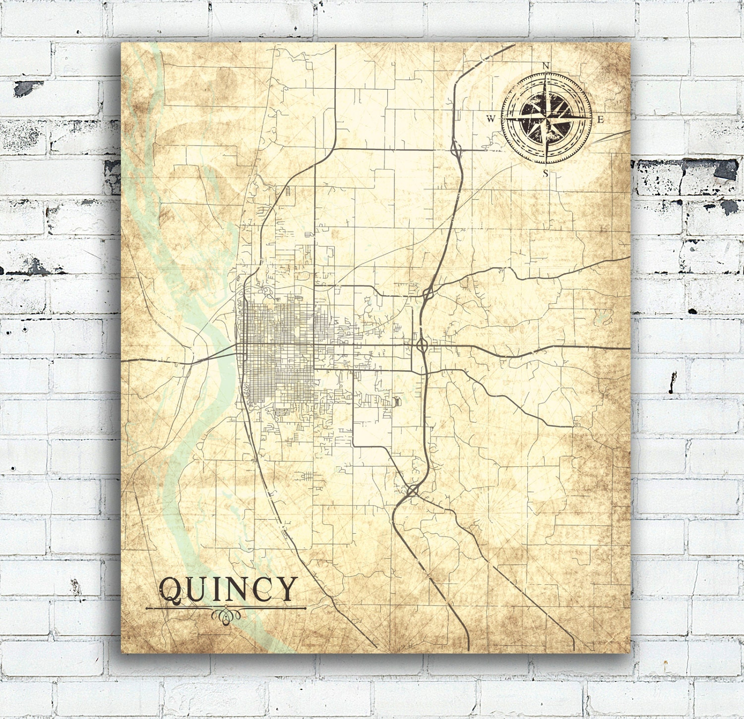 QUINCY IL Canvas Print IL Illinois Town City Vintage map ... on city of quincy map, quincy fl map, quincy il attractions, great lakes illinois street map, quincy il ward map, quincy il history, quincy il architecture, quincy il zip code, quincy il schools, quincy mi map, quincy il bars, quincy street map, quincy il hotels, adams county quincy illinois map, quincy il weather, quincy il parks, quincy il city flag, quincy il restaurants, quincy il shopping, quincy il city hall,