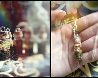 Herbal amulets ~ Witch's vials