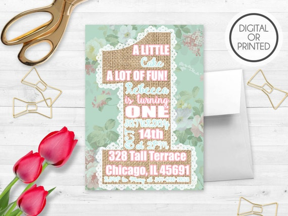 Shabby chic birthday invitations shabby chic birthday shabby etsy image 0 filmwisefo
