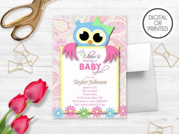 Owl baby shower invitation owl baby shower invites owl etsy image 0 filmwisefo