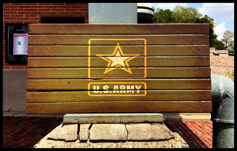 US Army, US Army Flag, Army Sign, Military Flag, Wood Army Flag ...