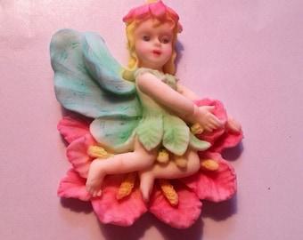 Fondant Woodland Fairies - 2 pieces