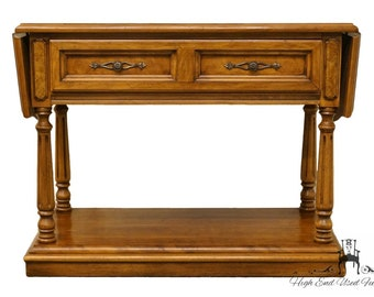 THOMASVILLE HUNTLEY FURNITURE Romano Collection Italian Neoclassical Drop  Leaf Server / Buffet 4921 520