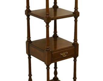 PENNSYLVANIA HOUSE Solid Walnut Accent Tier Shelf / Etagere