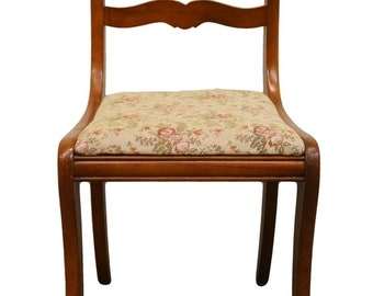 Duncan Phyfe Rose Back Dining / Accent Side Chair