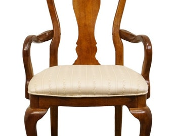 Latest Collection Of Bernhardt Furniture Italian Neoclassical Cane Back Dining Arm Chair 116-522 A Wide Selection Of Colours And Designs Chairs