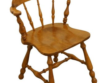 ETHAN ALLEN Heirloom Nutmeg Maple Spindle Back Chair  sc 1 st  Etsy & Spindle back chair | Etsy