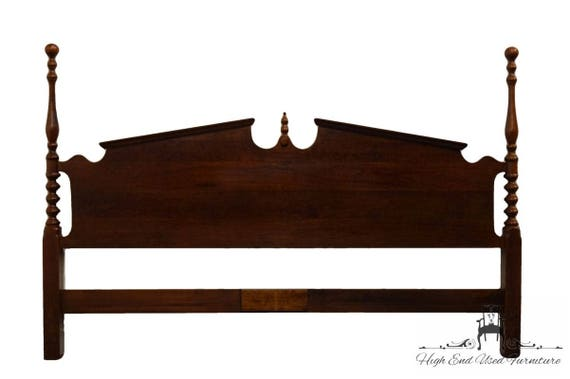 Cresent Furniture Solid Cherry King Size Pediment Poster