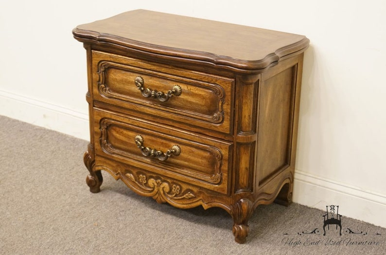 HIBRITEN Louis XVI French Style 30 Two Drawer Nightstand 784-205